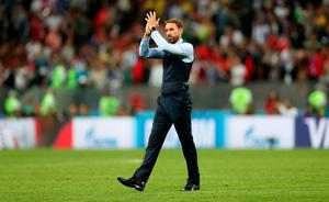 DREAM OVER: England manager Gareth Southgate. Pic: Getty