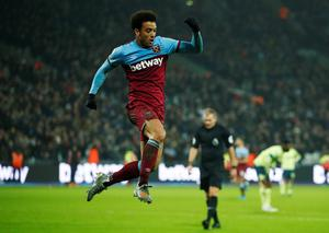 FOURTH: Felipe Anderson. Pic: Reuters