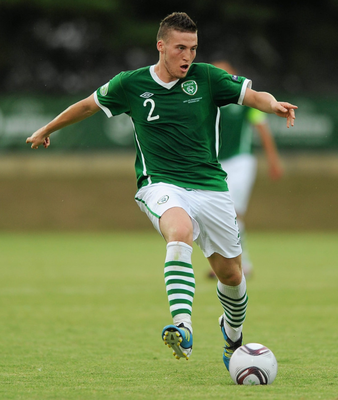 The Republic of Ireland's Matt Doherty, in action during the European Under-19 Championships in Bucharest, Romania in July 2011