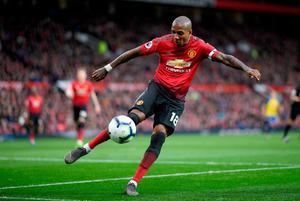 EURO AIM: Ashley Young is relishing tomorrow's test in Paris. Photo: Getty Images