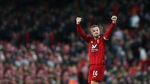 Jordan Henderson is in the running to win PFA Player of the Year.