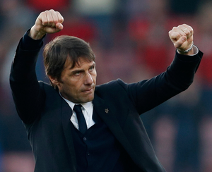 Chelsea manager Antonio Conte is well capable of calming the nerves of his players on their Premier League title run-in