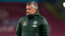 Ole on the line: Ole Gunnar Solkjaer can put United six points clear on Sunday if they can pull off the unthinable with a win at Anfield