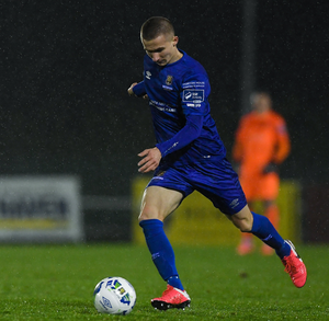 NEW START: Tyreke Wilson in action for Waterford United last February. Pic: Sportsfile