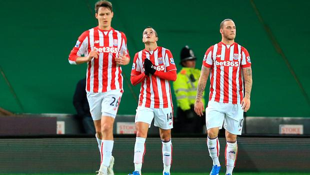 Mark Hughes has said that the class of Ibrahim Afellay came as no surprise