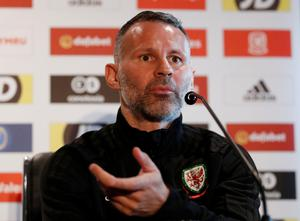 RYAN'S RETORT: Wales manager Ryan Giggs speaks in a press conference ahead of tonight's friendly against Trinidad & Tobago. Photo: Action Images via Reuters