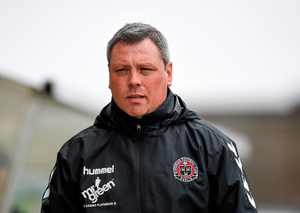 Bohemians manager Keith Long. Pic: Sportsfile