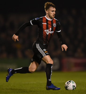 Luke Wade-Slater is targeting another win for Bohemians against Waterford tonight