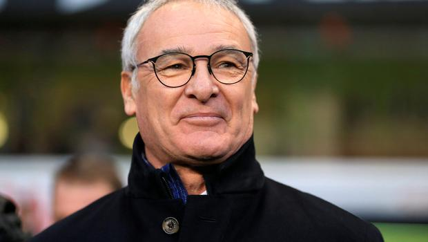 """Ranieri: """"This season we are fighting. It is changing not only for us but for all teams."""" Photo: PA"""