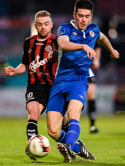 Action from last week's League of Ireland Premier Division matches in Dublin, where a combined total of just over 5,000 supporters went to watch Bohemians take on St Patrick's Athletic at Dalymount Park (pictured) and Shamrock Rovers against Finn Harps at Tallaght Stadium