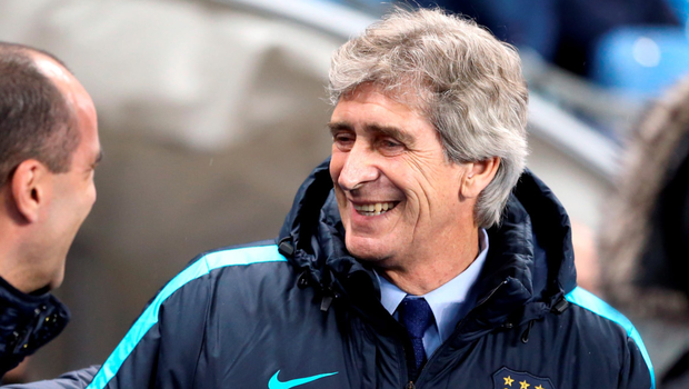 City boss Manuel Pellegrini had begun with Yaya Toure playing deep at the base of a midfield diamond: PA WIRE