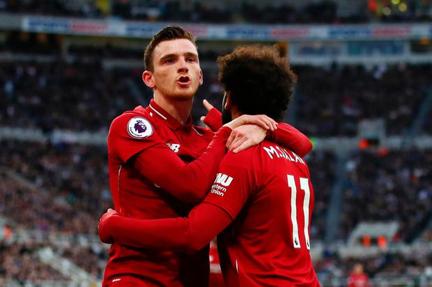 Andy Robertson (l) knows what is required