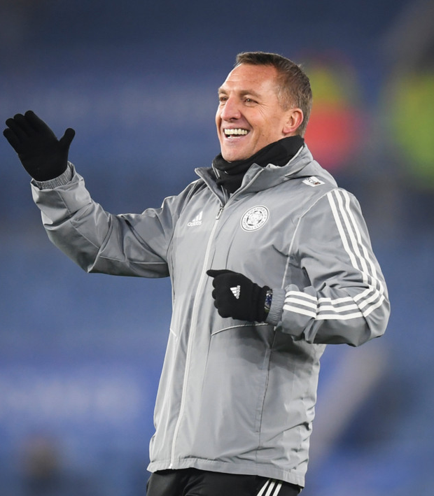 Brendan Rodgers expects his Leicester side to be even better in the second half of the season