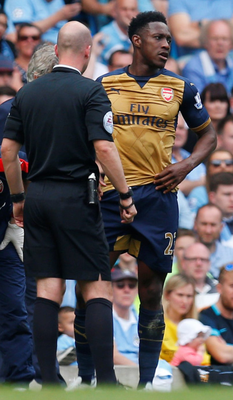 Danny Welbeck (right). Photo: Jason Cairnduff/Reuters