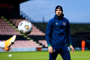 A LOT TO PROVE: Shane Duffy will be hoping for a good game this evening