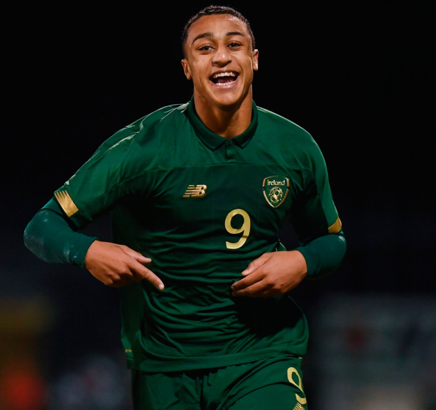 Adam Idah, 18, is with the Canaries