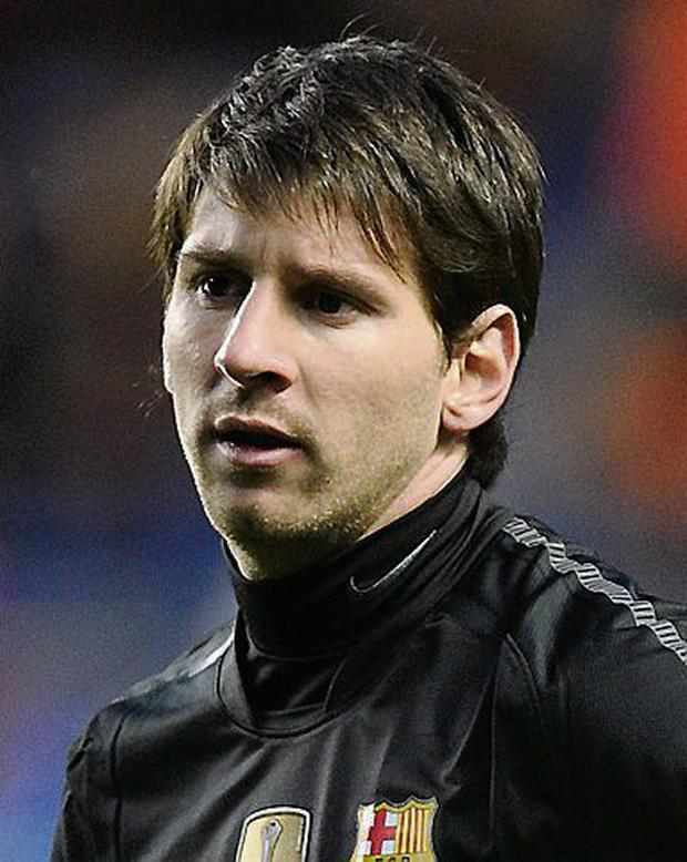 Messi Faces Tax InvestigationFile Photo Dated 18 04 12 Of