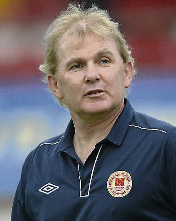St Patrick's Athletic manager Liam Buckley. Picture: Oliver McVeigh / SPORTSFILE