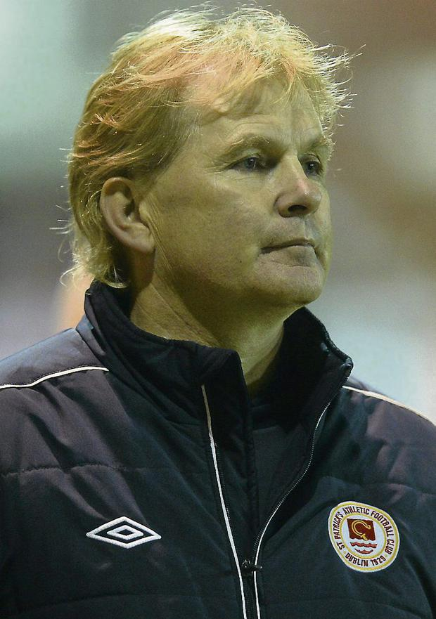 Liam Buckley, St Patrick's Athletic manager. Picture: David Maher/Sportsfile.