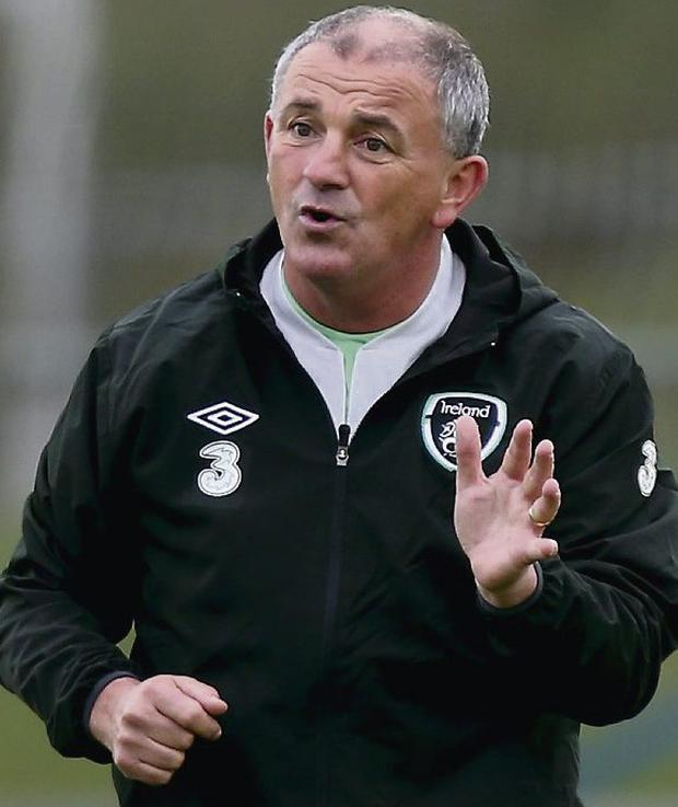 Republic of Ireland caretaker manager Noel King. Photo: Brian Lawless/PA Wire.