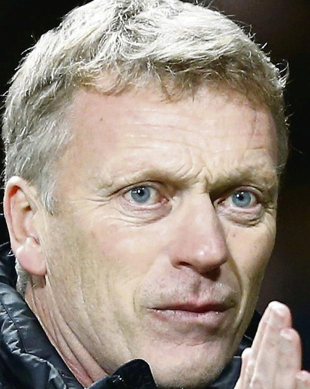 Manchester United manager David Moyes. Picture credit: Darren Staples / REUTERS