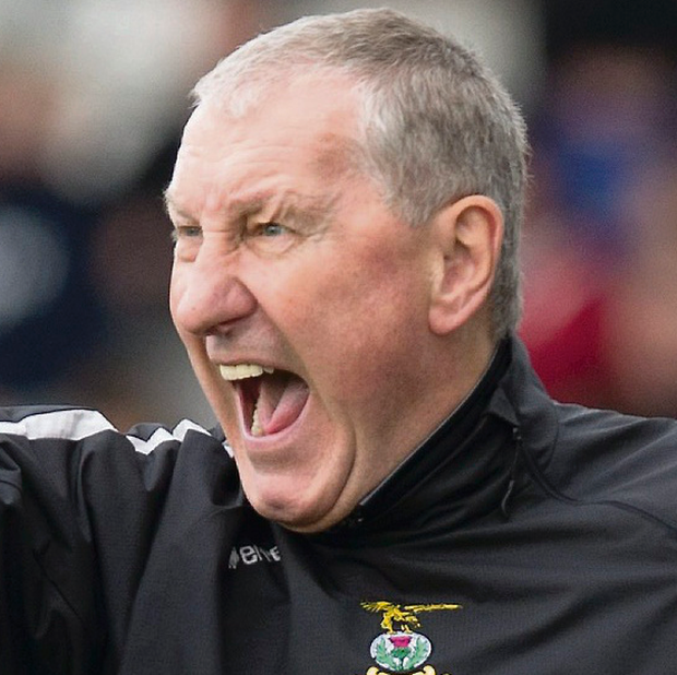 New Hibs boss Terry Butcher. Picture credit: Jeff Holmes/PA Wire.