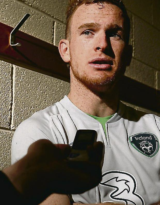 Republic of Ireland's Alex Pearce. Picture: David Maher/Sportsfile