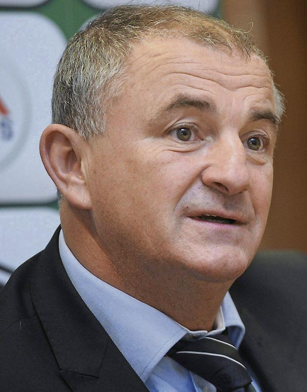 Republic of Ireland U21 manager Noel King. Picture credit: Ramsey Cardy / SPORTSFILE