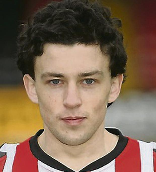 Derry City's Barry McNamee. Picture credit: Oliver McVeigh / SPORTSFILE
