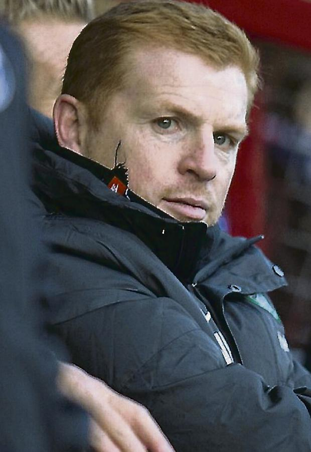 Celtic Manager Neil Lennon. Picture credit: Jeff Holmes/PA Wire.