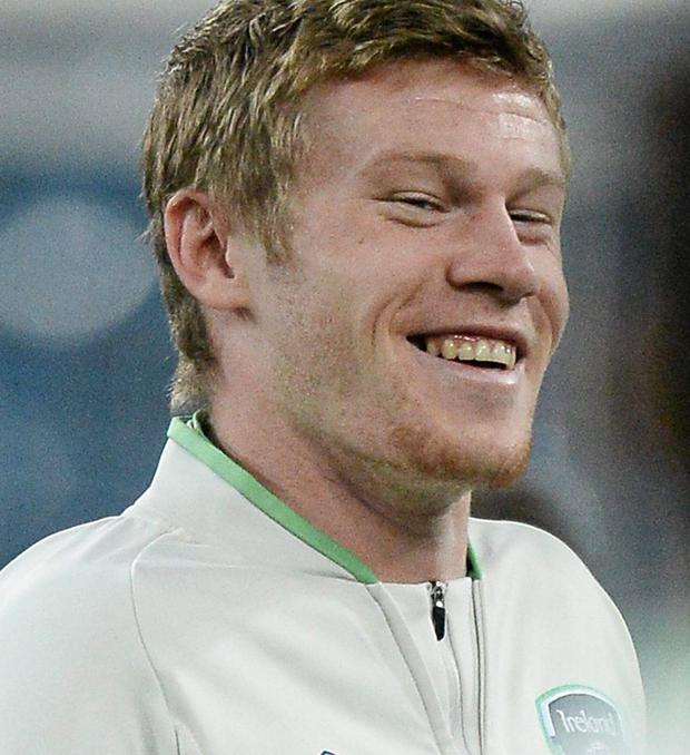 Republic of Ireland's James McClean. Picture: David Maher/SPORTSFILE
