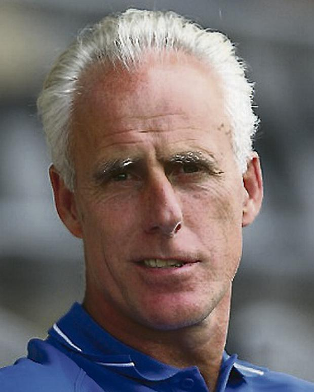 Mick McCarthy of Ipswich Town. Photo: Clive Mason/Getty Images