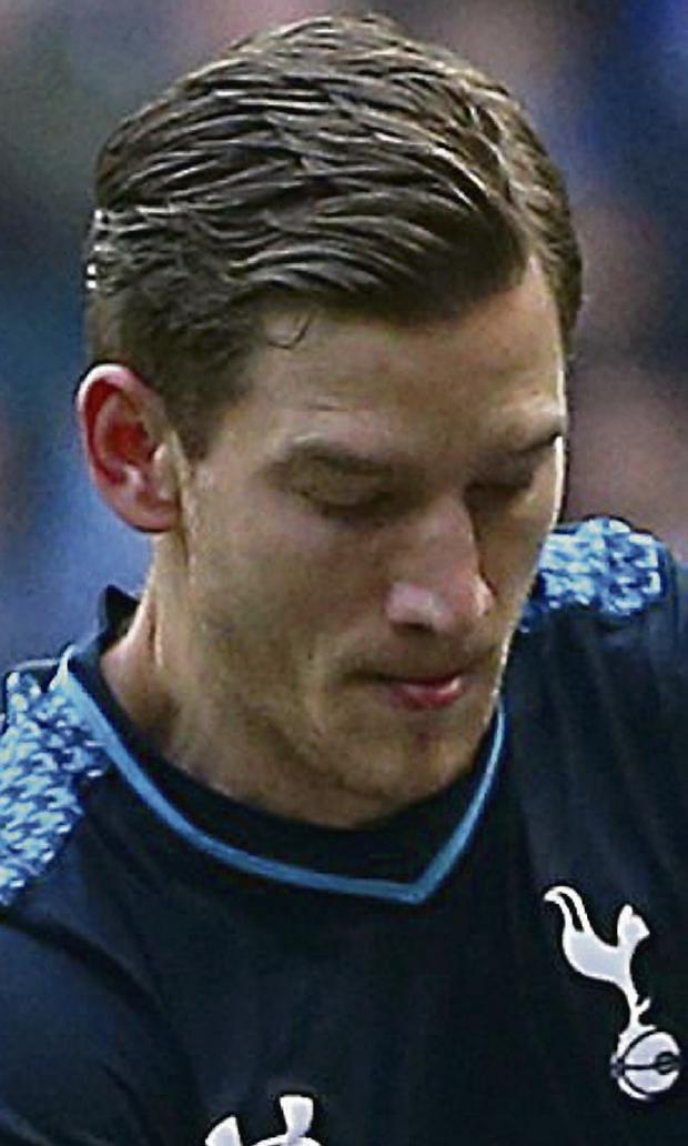 Tottenham Hotspur's Jan Vertonghen/ Picture credit: Dave Thompson/PA Wire.