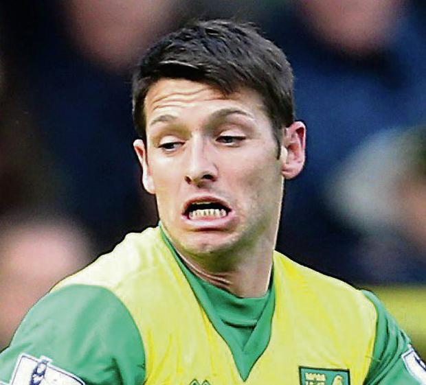 Norwich City's Wes Hoolahan at Carrow Road, Norwich. Picture: Chris Radburn/PA Wire.