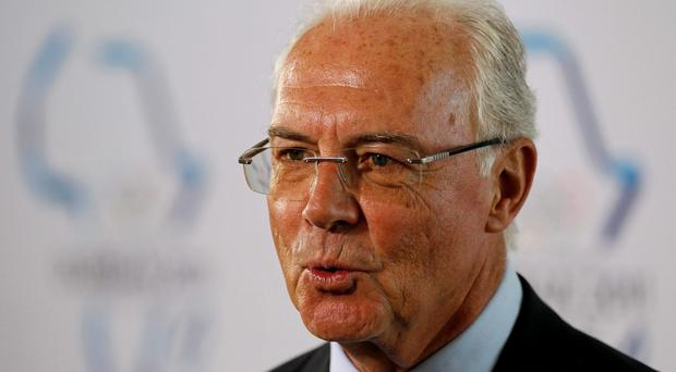 Franz Beckenbauer. Picture: Siphiwe Sibeko/REUTERS