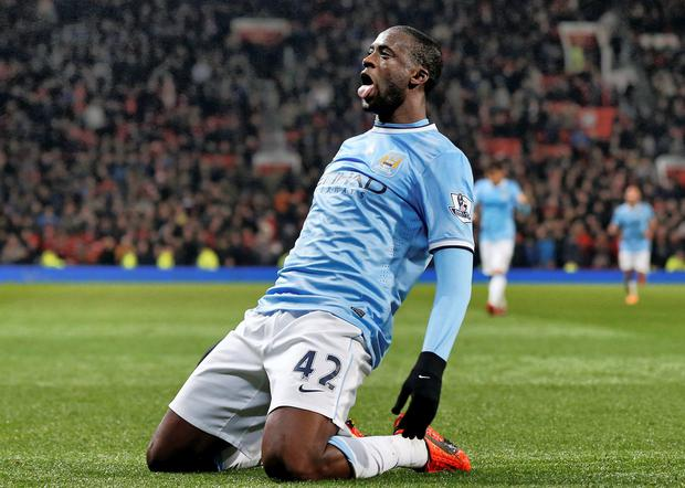Yaya Toure. Picture: Phil Noble/REUTERS
