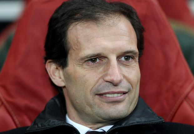 New Juventus coach Massimiliano Allegri. Picture: Nick Potts/PA