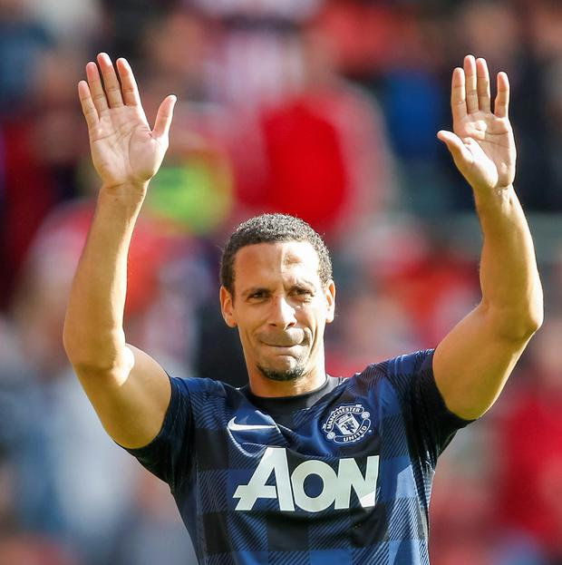 Rio Ferdinand has announced on Twitter that he has passed his medical at QPR. Picture: Chris Ison/PA Wire.