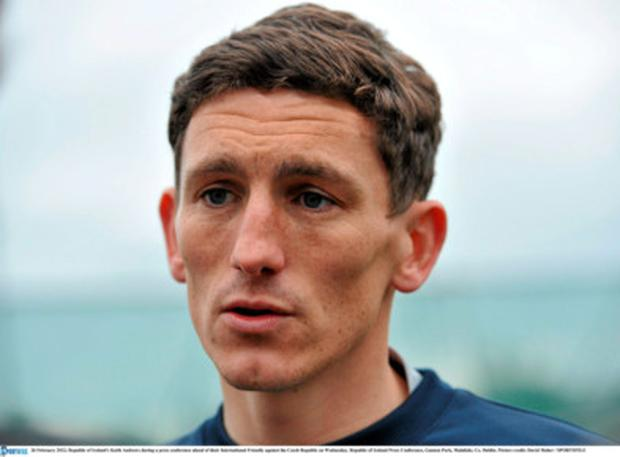 Keith Andrews. Picture: David Maher / SPORTSFILE