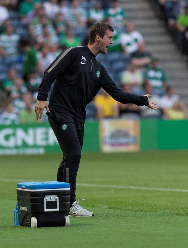 Celtic manager Ronny Deila. Picture: Alan Rennie/PA Wire.