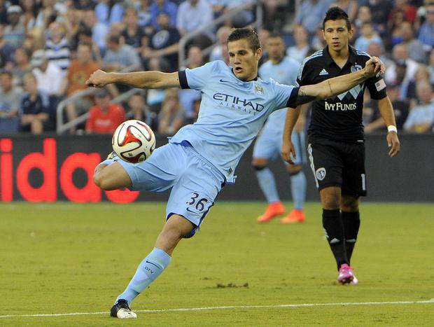 Bruno Zuculini of Manchester City. Picture: John Rieger/USA TODAY