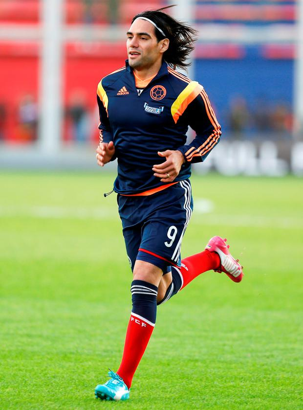 Radamel Falcao. Photo by Gabriel Rossi/Getty Images