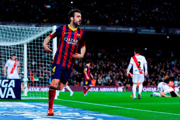 Barcelona's Pedro. Picture: David Ramos/GETTY IMAGES