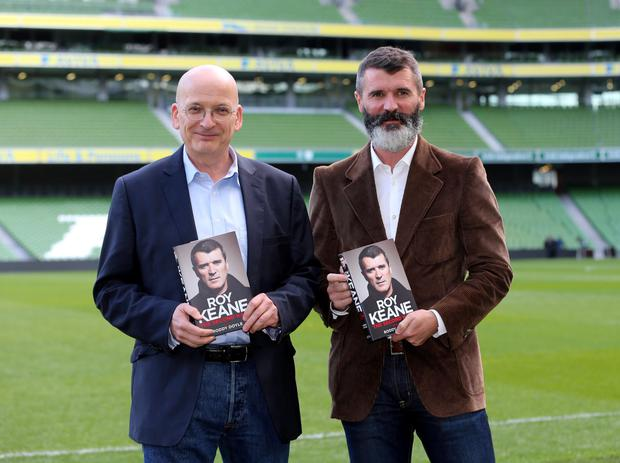 Roy Keane and Roddy Doyle