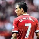 The No 7 energised and inspired Cantona, Beckham and Ronaldo, but Di Maria (pictured) allowed it weigh him down