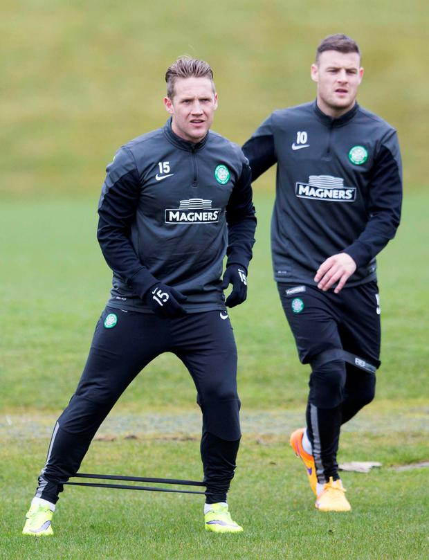 Kris Commons and Anthony Stokes
