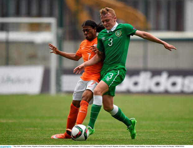Ireland gained a valuable point in the clash with the Dutch