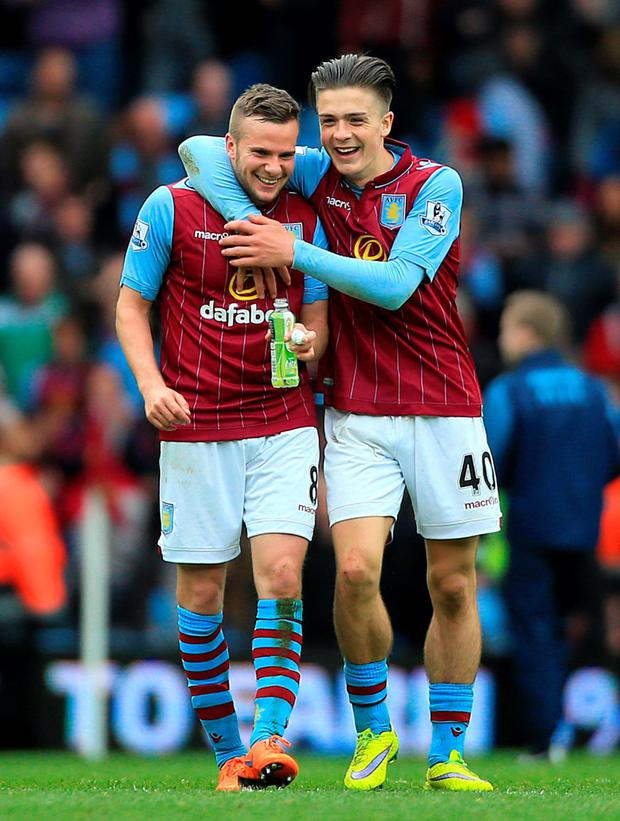Jack Grealish and Tom Cleverly