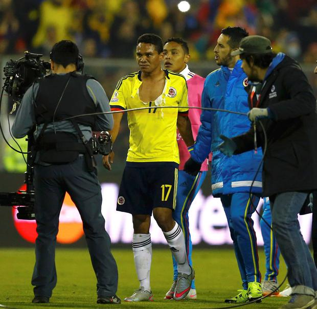 Colombia's Carlos Bacca