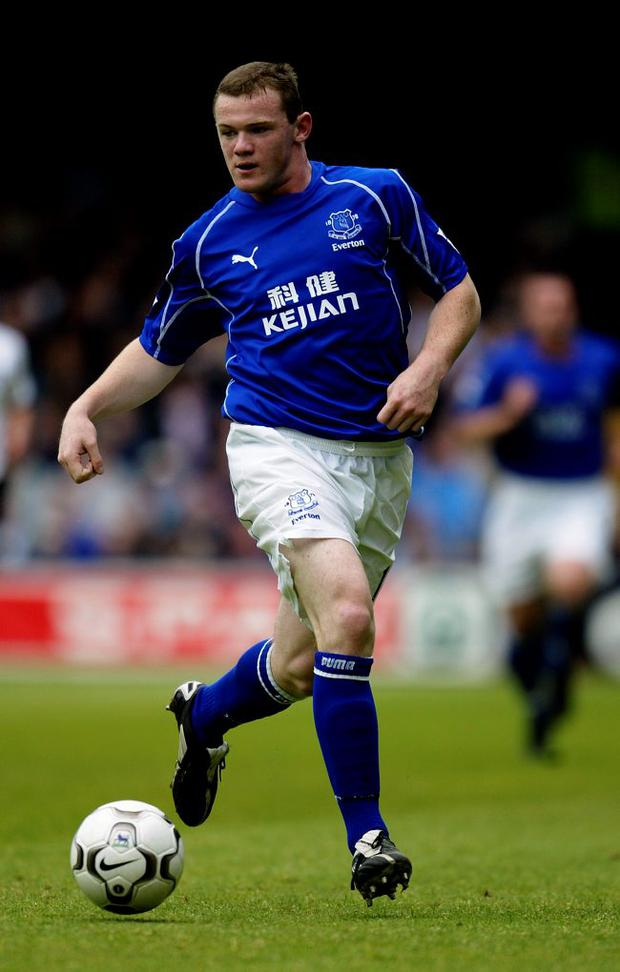 Wayne Rooney left Everton for Manchester United in 2004